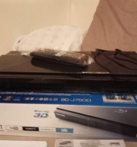 Blu-ray плеер 3d samsung bd-j7500