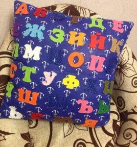 Подушки с алфавитом