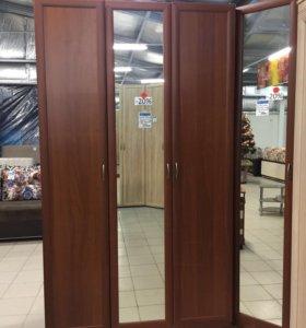Шкаф 3 дверный распашной для платья и белья