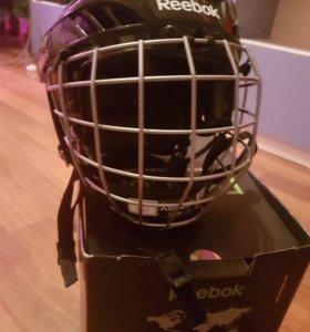 Новый хоккейный шлем с маской детский