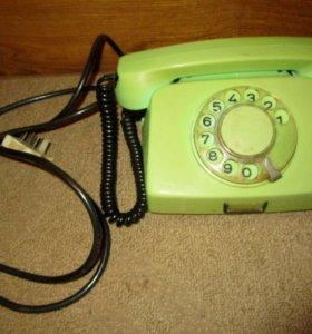 Телефон дисковый 1980 г. Болгария