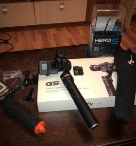 GoPro Hero 5 + Стабилизатор FY G5