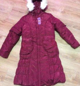 Пальто куртка зима на девочку