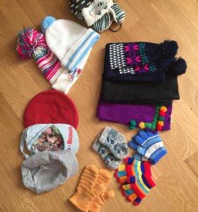 Шапки 🧢,шарфы ,перчатки