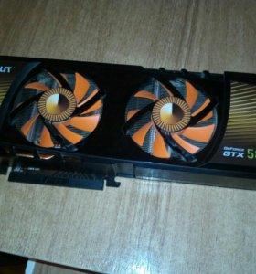 Видеокарта GTX 580 Palit