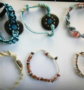 Браслеты макраме - подарок handmade