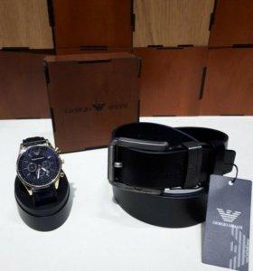 Ремень+часы