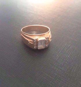 Перстень ( печатка )золото