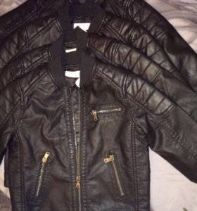 Кожаные куртки HM