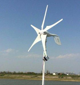 Ветрогенератор 400W с контроллером 12V