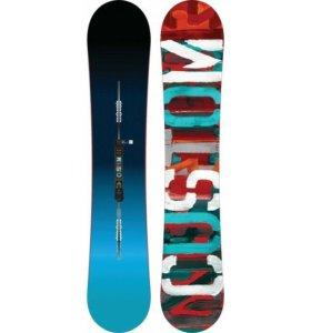 Новый сноуборд Burton Custom flying V