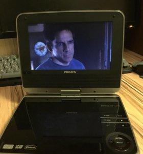 Новый портативный DVD Philips