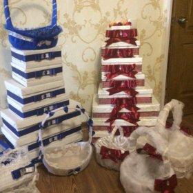 Подарочные Коробки и корзины для сватовства
