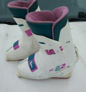 Горнолыжные ботинки Salomon SX-42.