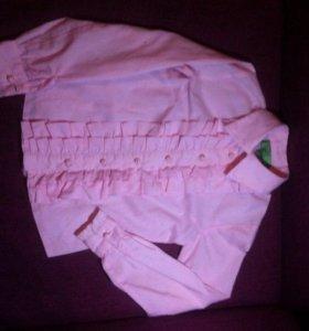 Блуза(рубашка) на девочку
