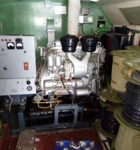 Электростанция с кунгом