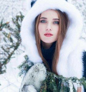 Очень теплая Зверо-шапка и Варежки-Лапки