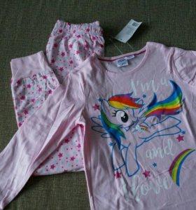 Пижамы для девочек.Новые.Германия