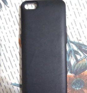 Чехол , батарея для айфона 5,5s