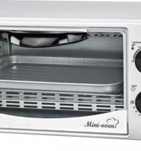 духовка электро SA-7018W 10л 1000Вт таймер