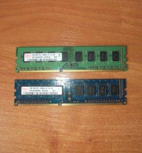 оперативная память hynix 2gb ( 2 штуки )