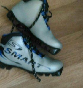 Лыжные ботинки. 39 размер