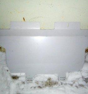 защита радиатора и картера алюминиевая