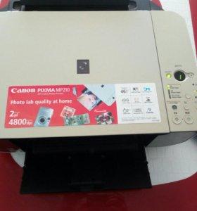 Принтер canon picks mp210