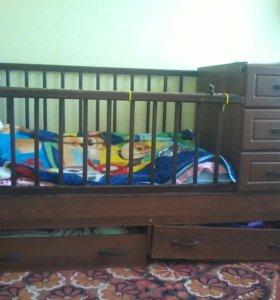 Детская кровать - трансвормер