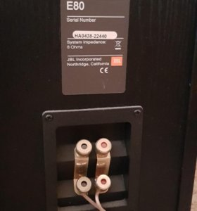 Напольные калонки JBL E80