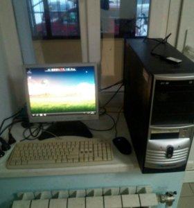 Компьютер для офиса и интернет и средних игр