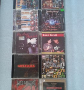 CD. Зарубежный рок.