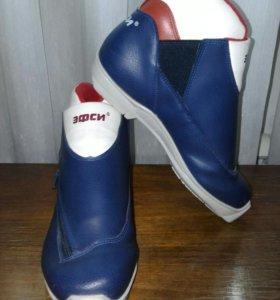 Лыжные ботинки в отличном состоянии!