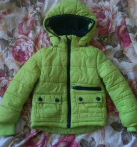 Детская куртка(холодная весна/осень)