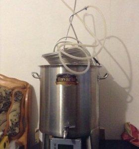 Комплект для приготовления пенных живых напитков