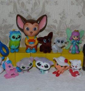 Игрушки для девочек. Фигурки животных