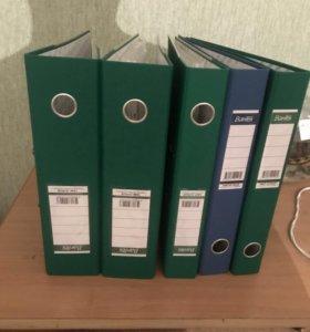 Продам папки для документов, 5 шт