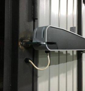 Монтаж систем автоматического открывания ворот
