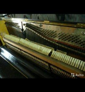 Немецкое антикварное пианино Фидлер .