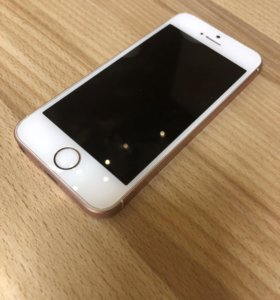 Iphone SE (розовое золото)