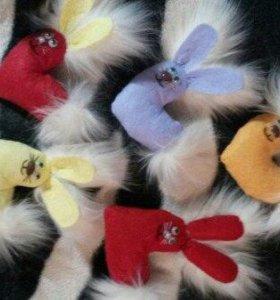 валентинки в виде мягкой игрушки