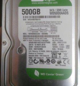Жёсткий диск WD Green digital