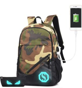 Рюкзак светящийся, новый
