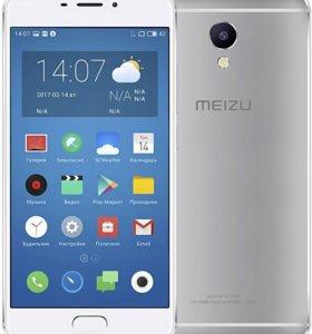 Meizu m5 Note 3\16 Silver Global