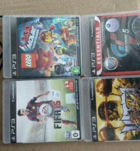 Диски, игры на PlayStation 3