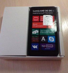 Телефон Microsoft lumia 640dual sim