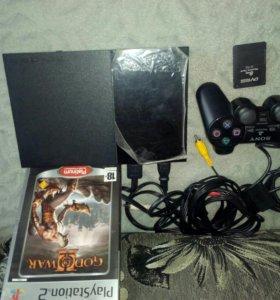 """Sony PlayStation 2 + Диск """"COD OF WAR"""""""