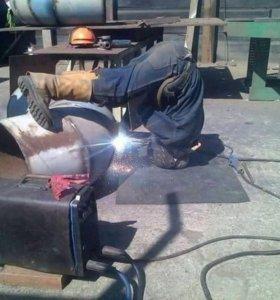 Сварочные услуги, металлоконструкции