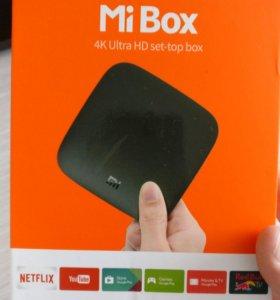 Приставка Xiaomi mi box 2016 4k