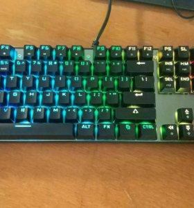 Новая клавиатура Motospeed ck104, механическая.